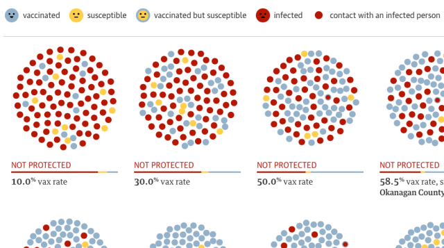 The Guardian - Vaccination Simulations