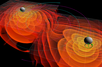 Black Hole Collision Simulation