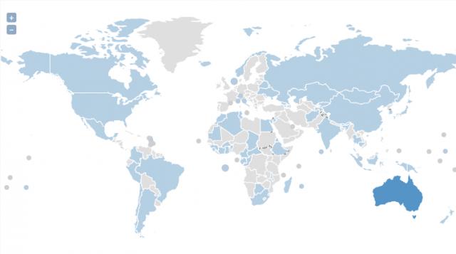 UN Interactive Map
